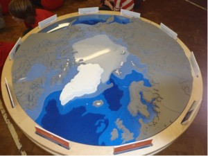 The amazing 'Class Zero Emissions' jigsaw of the Arctic.